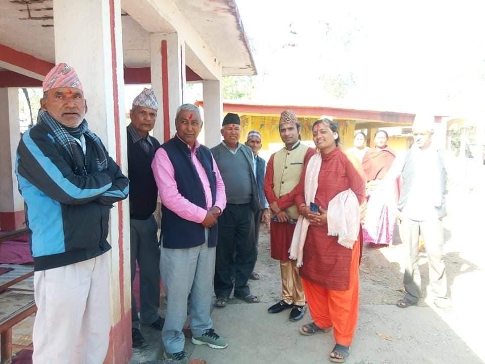 सांसद गिरीको पहलमा फेरिँदै सितलपुर मन्दिरकाे रुप