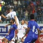 दोस्रो मैत्रीपूर्ण खेलमा भारतसँग नेपाल २-१ गोलले पराजित
