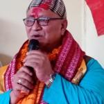 लोकतान्त्रिक खेलकुद संघ लुम्विनीले मन्त्री हमाललाई स्वागत गर्दै