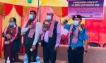 राप्तीसोनारीको फत्तेपुर 'ख' प्रहरी चौकी भवनको उद्घाटन