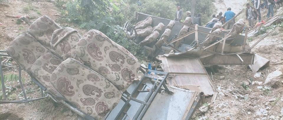 टायर पन्चर भएर मुगु बस दुर्घटनामा ३२ जनाको ज्यान गएको प्रहरीको भनाइ