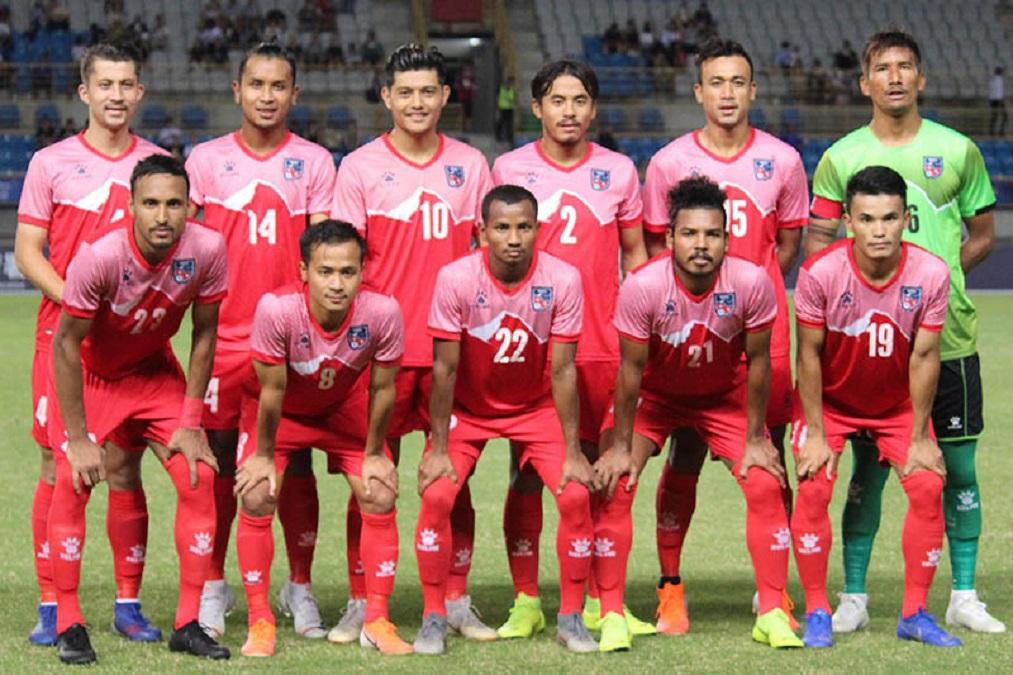 नेपाली राष्ट्रिय फुटबल टोली ईराक प्रस्थान